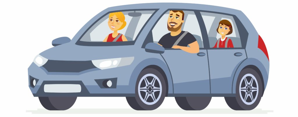 Купить семейный автомобиль в кредит без залога