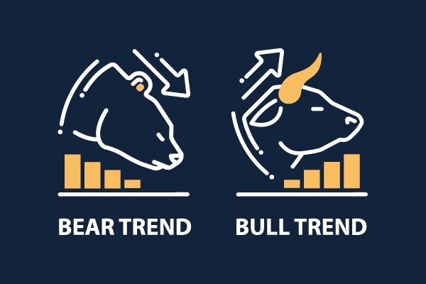 медведи и быки на рынке криптовалют